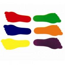 키드짐 - 키드짐발마커 (12개세트) 구성 : 오른발6개, 왼발6개(6가지색상) 사이즈 22 X 9cm
